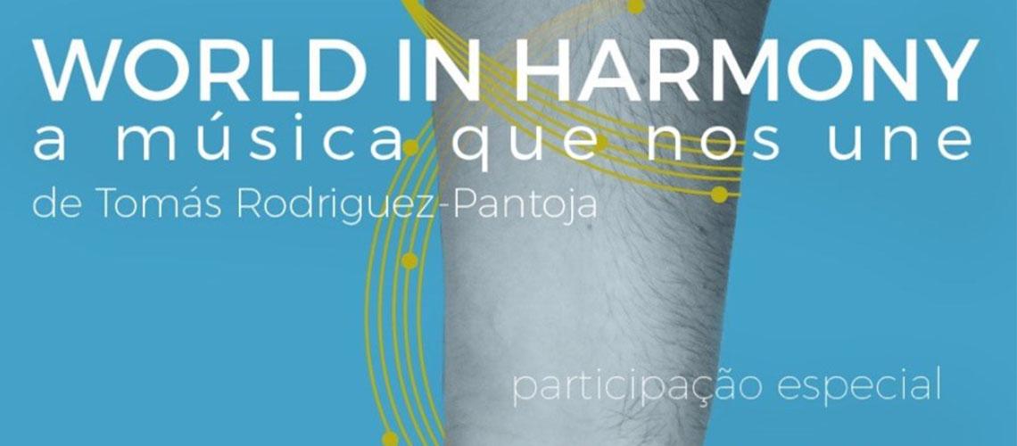 World in Harmony, o espectáculo musical solidário com a participação Rui Veloso e Cuca Roseta