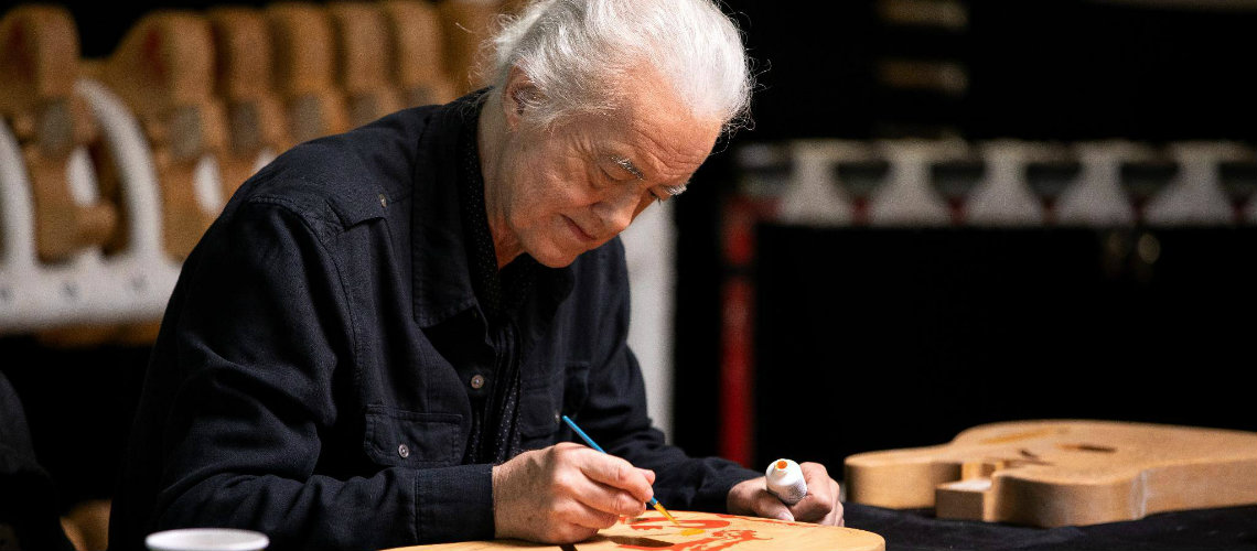 Fender & Jimmy Page, Dragon Telecaster Making Of