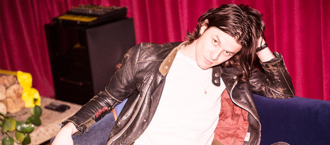 James Bay ao vivo no Hard Club em Maio