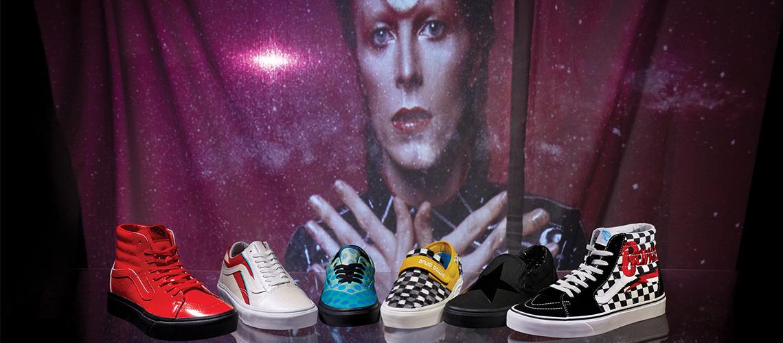 Vans lança colecção de homenagem a David Bowie