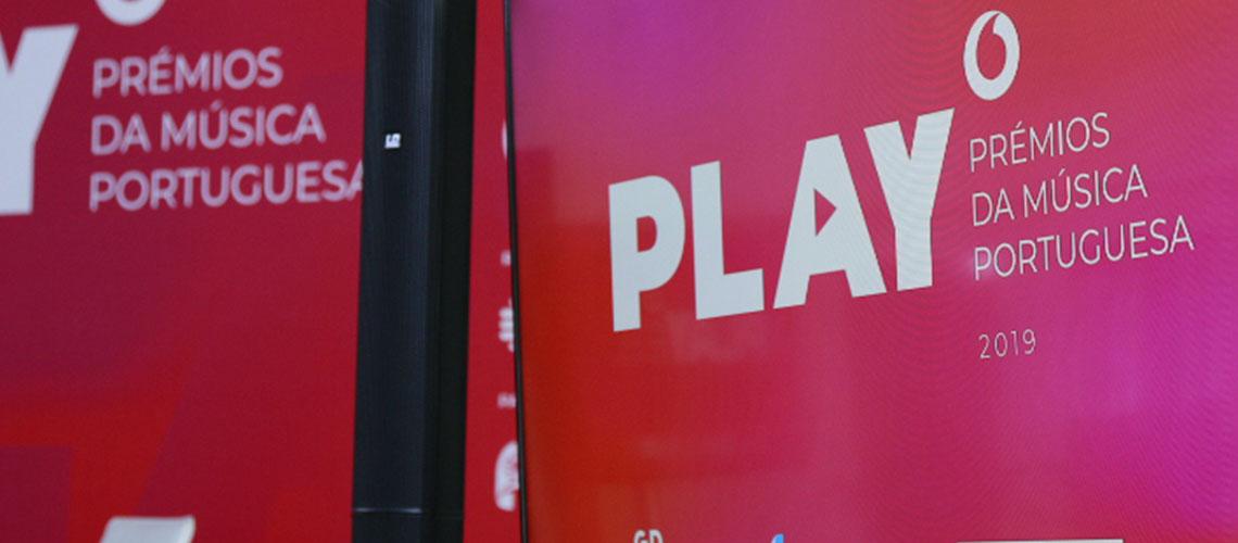 PLAY: Prémios da Música portuguesa na RTP