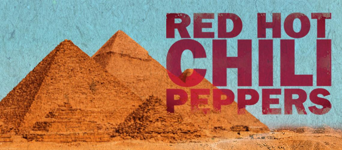 Concerto dos Red Hot Chili Peppers nas Pirâmides do Egipto vai ser transmitido em directo