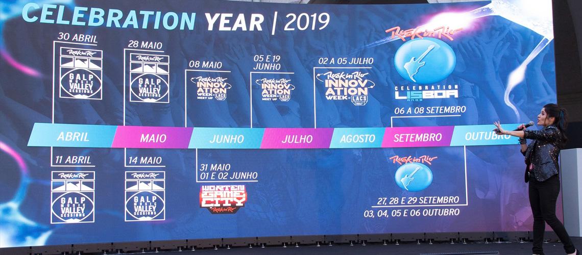 15 anos de Rock in Rio Lisboa celebrados com concertos gratuitos em Belém