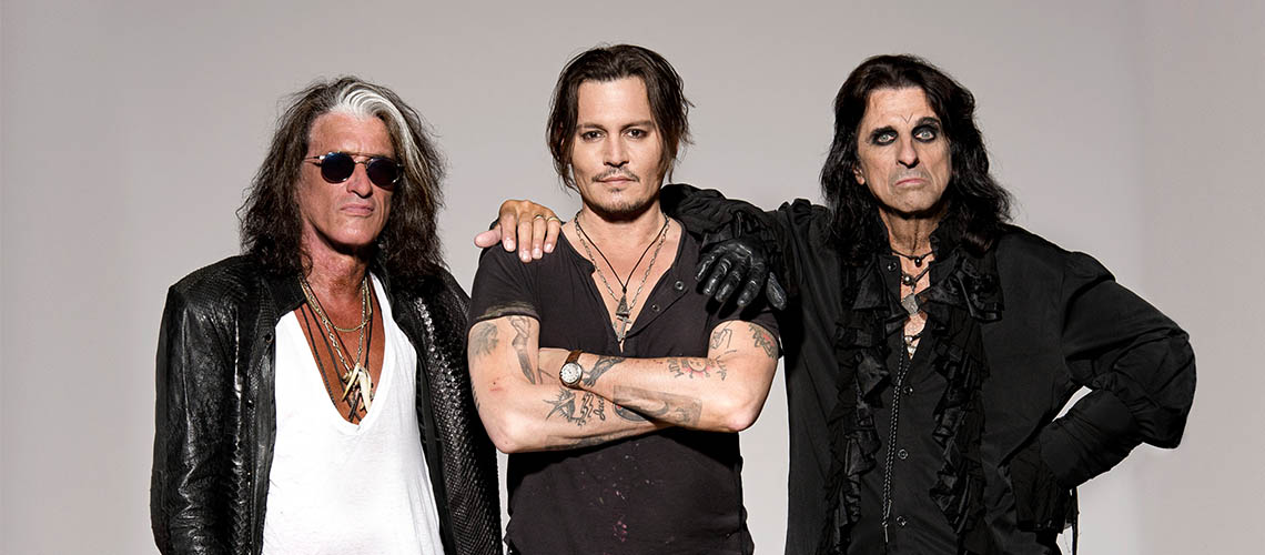 "O Regresso dos Hollywood Vampires: Novo Single ""Who's Laughing Now"""