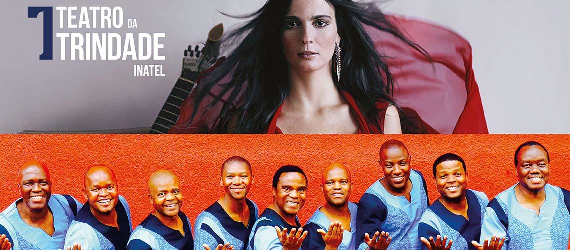 Marta Pereira da Costa + Ladysmith Black Mambazo