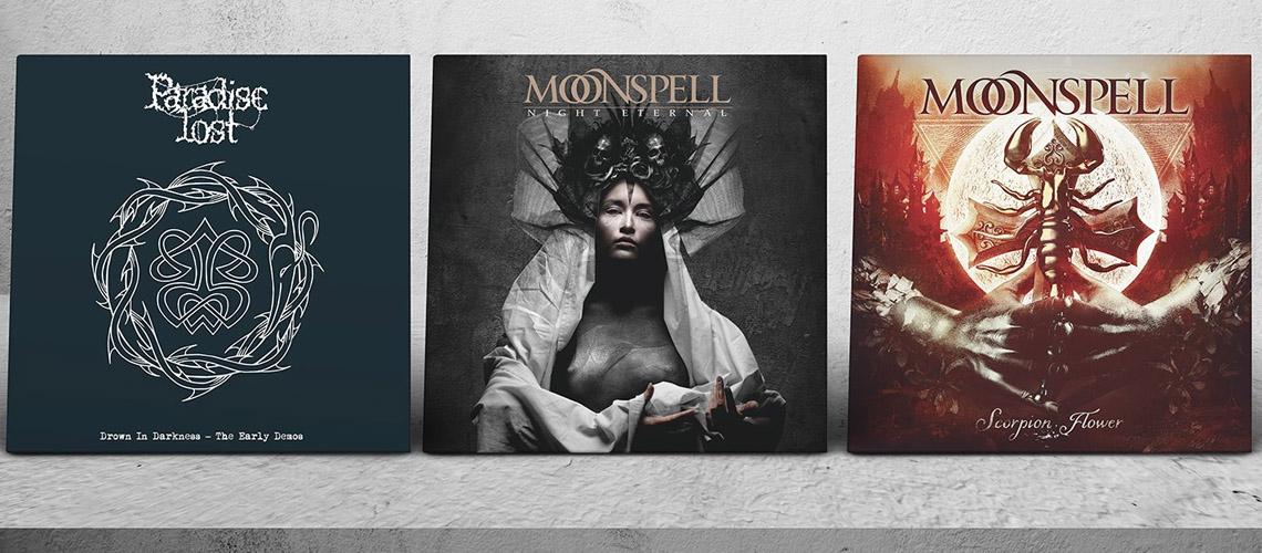 Record Store Day'19: Rastilho Records e Alma Mater com edições especiais de Tédio Boys, Paradise Lost e Moonspell