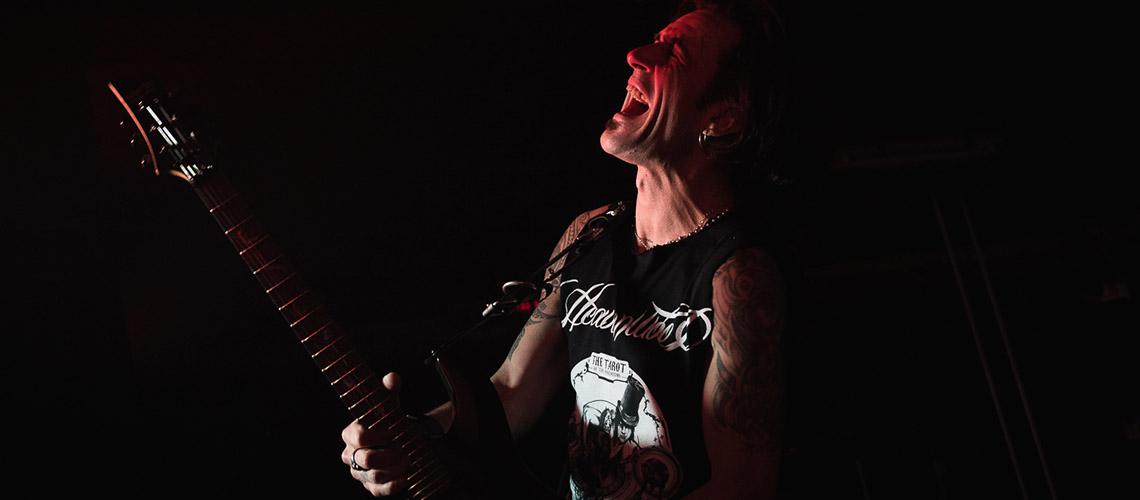 """Rise"" é a primeira amostra do novo álbum a solo do guitarrista Tó Pica"
