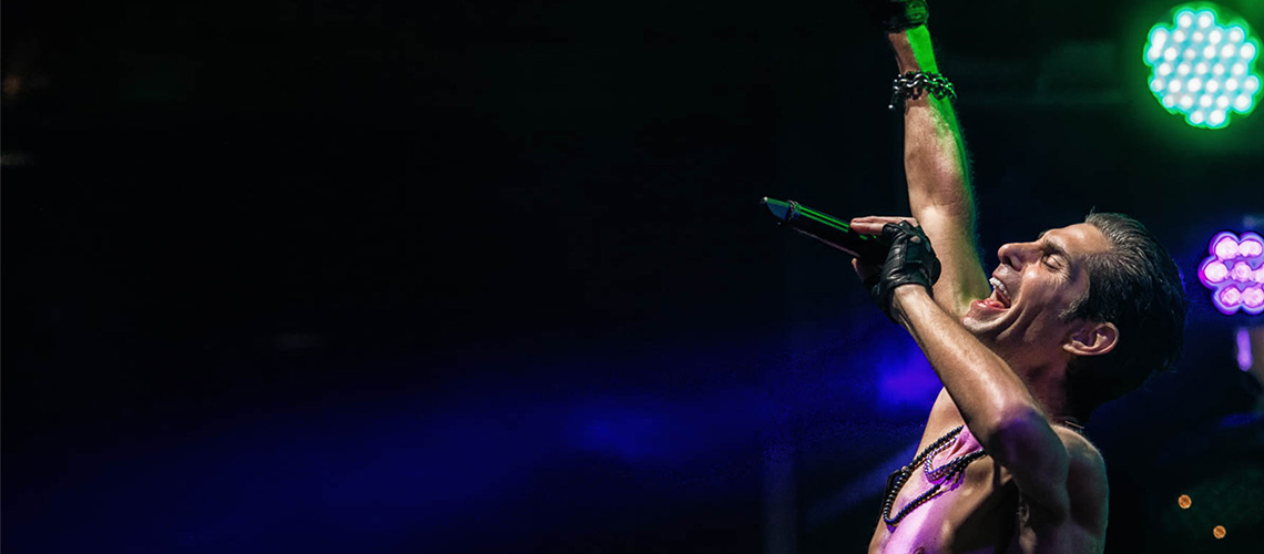 Perry Farrell's Kind Heaven Orchestra no NOS Alive 2019