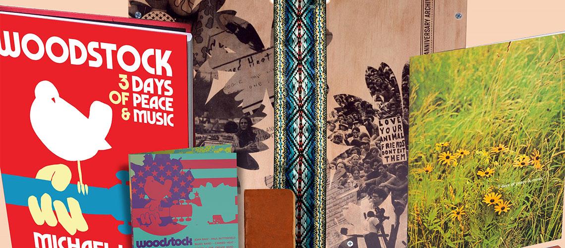 Festival Woodstock celebra 50 anos com caixa deluxe e duas compilações comemorativas
