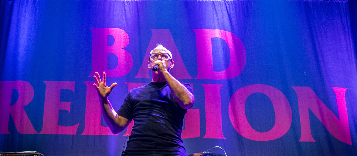 Bad Religion Dinamitaram Sala Tejo