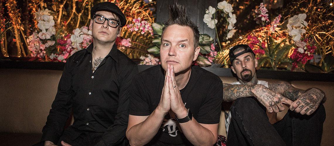 Blink-182 saem do confinamento e regressam com Quarantine