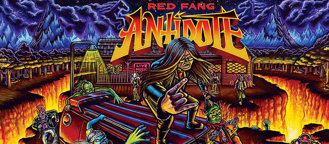 Red Fang lançam jogo para mostrar nova música