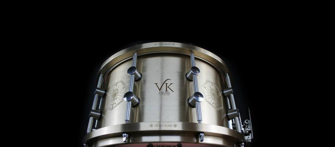VK Drums, Bronze e Lasers na Nova Tarola de Danny Carey