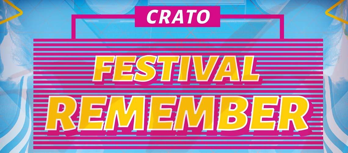 Festival Remember no Crato: Programação e Horários