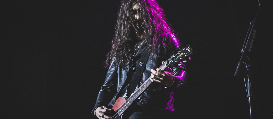 Frank Sidoris abandona tour de Slash Feat. Myles Kennedy and the Conspirators