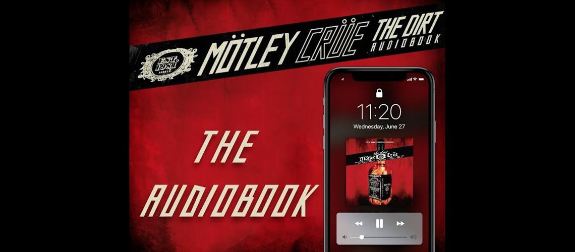 "Mötley Crüe lançam ""The DIrt"" em AudioBook"