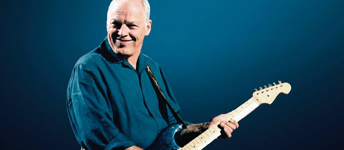 David Gilmour : Ouve aqui os podcasts do guitarrista dos Pink Floyd