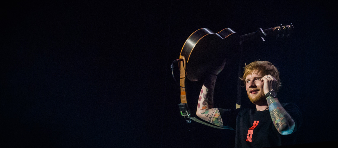 Ed Sheeran Conquista Estádio da Luz