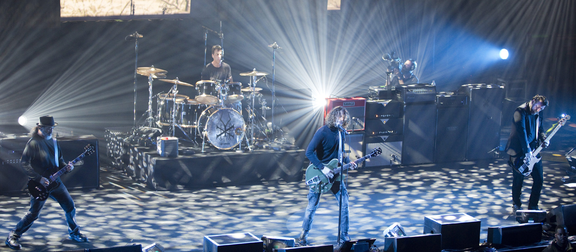 Concerto de Soundgarden nas salas de cinema IMAX