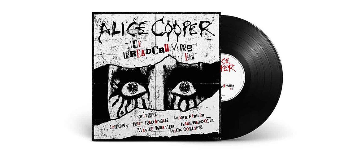 """Breadcrumbs"", novo EP de Alice Cooper sai em Setembro"