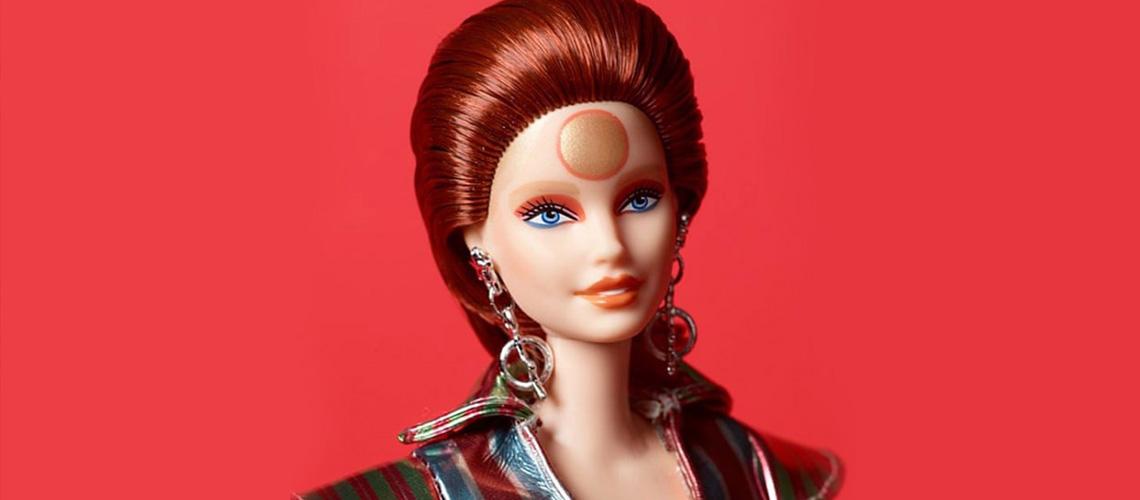Barbie vai lançar uma boneca inspirada no David Bowie de Ziggy Stardust