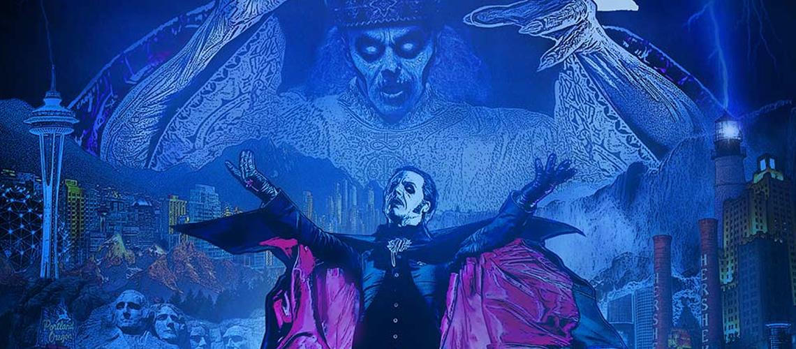 Ghost regressam a Portugal para concerto em nome próprio