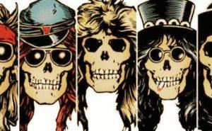 guns n roses skulls