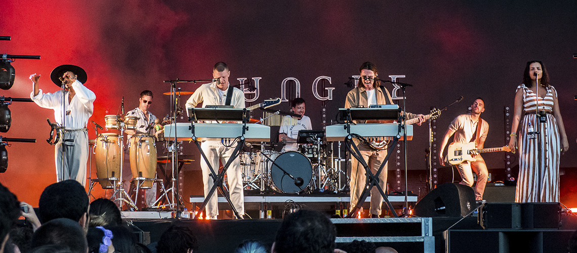 SBSR'19: Jungle, The 1975 e Metronomy