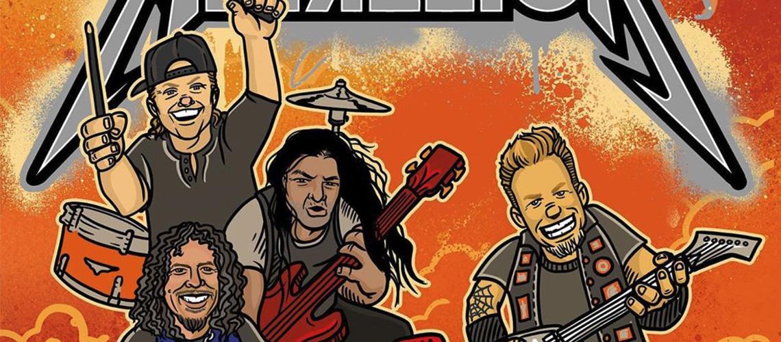Metallica vão lançar livro para crianças