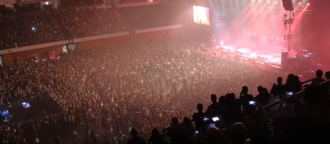 Circle pit gigante e muito mosh no VOA Heavy Rock Festival 2019 [vídeo]