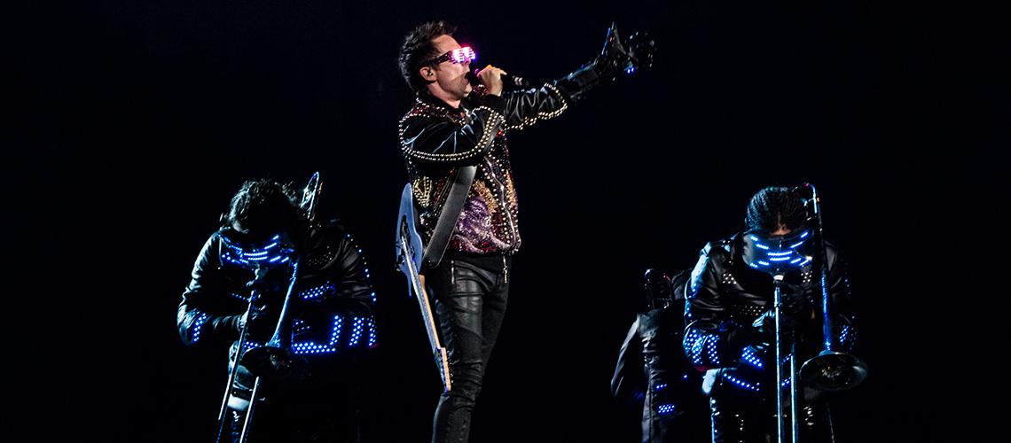 Muse, Grandiosa Experiência Auditiva e Visual