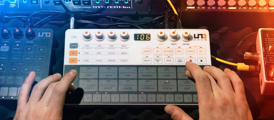 Uno Drum – A Bateria Eletrónica Analógica/ PCM