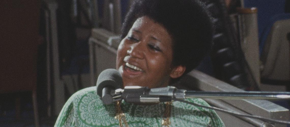 Filme-Concerto de Aretha Franklin chega às salas de cinema em Setembro