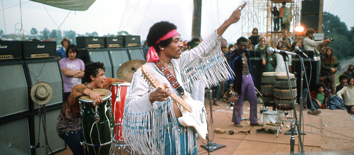 Jimi Hendrix, Fender Custom Shop Clona Izabella
