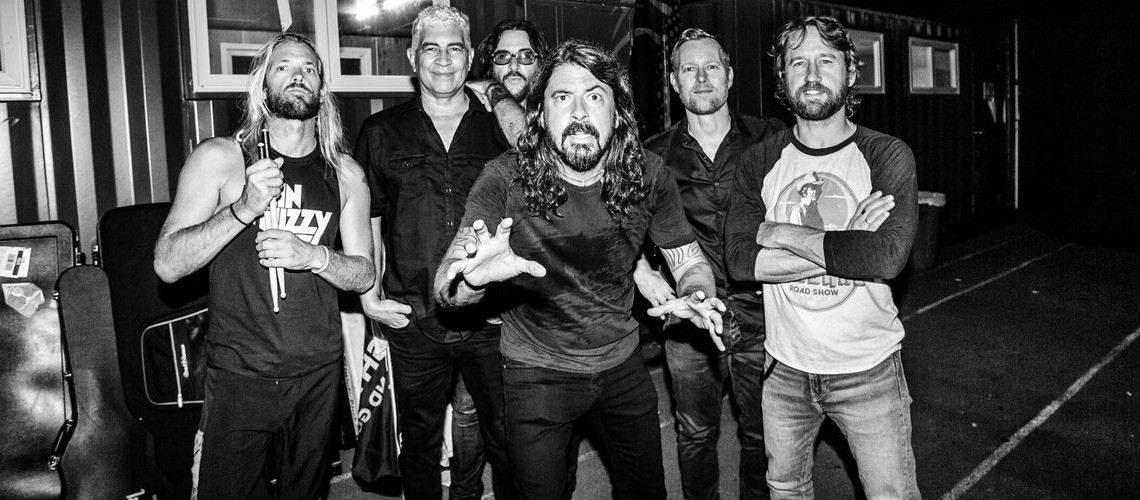 Foo Fighters no Rock in Rio Lisboa 2020