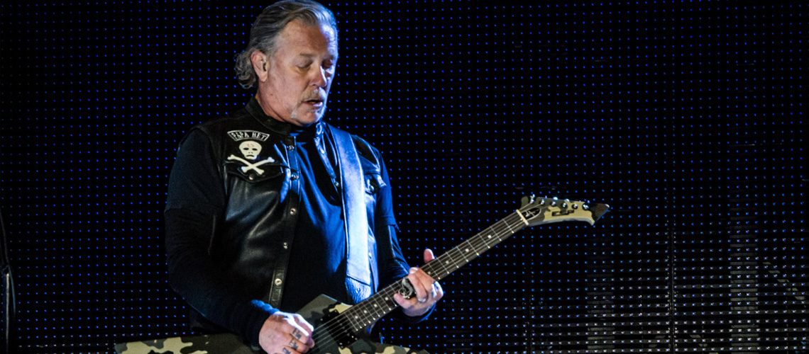 Jerry Cantrell diz que James Hetfield é o padrinho do metal