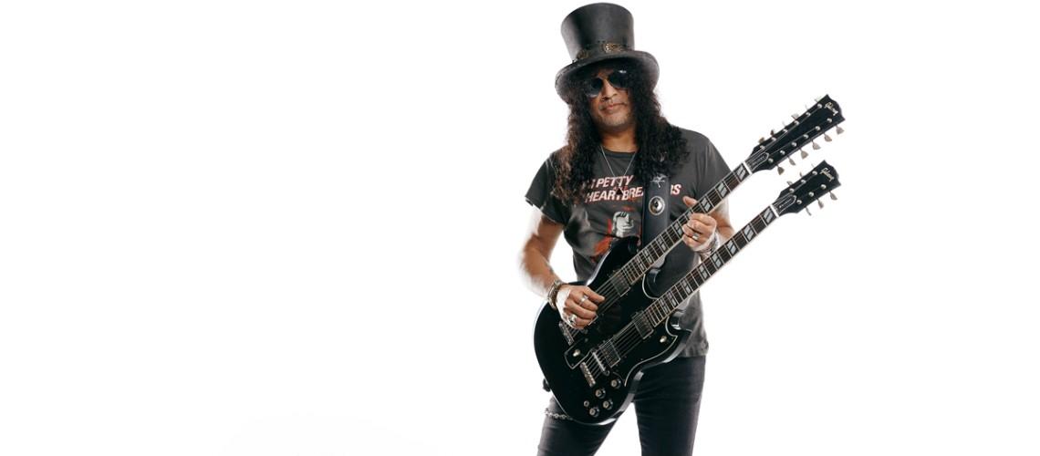 Gibson, A Doubleneck de Slash
