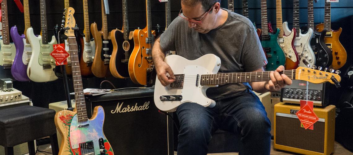 Mário Delgado Rebenta a Fender Jimmy Page Signature Telecaster I