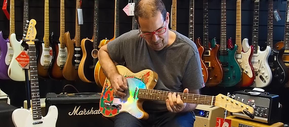 Mário Delgado Rebenta a Fender Jimmy Page Signature Telecaster II