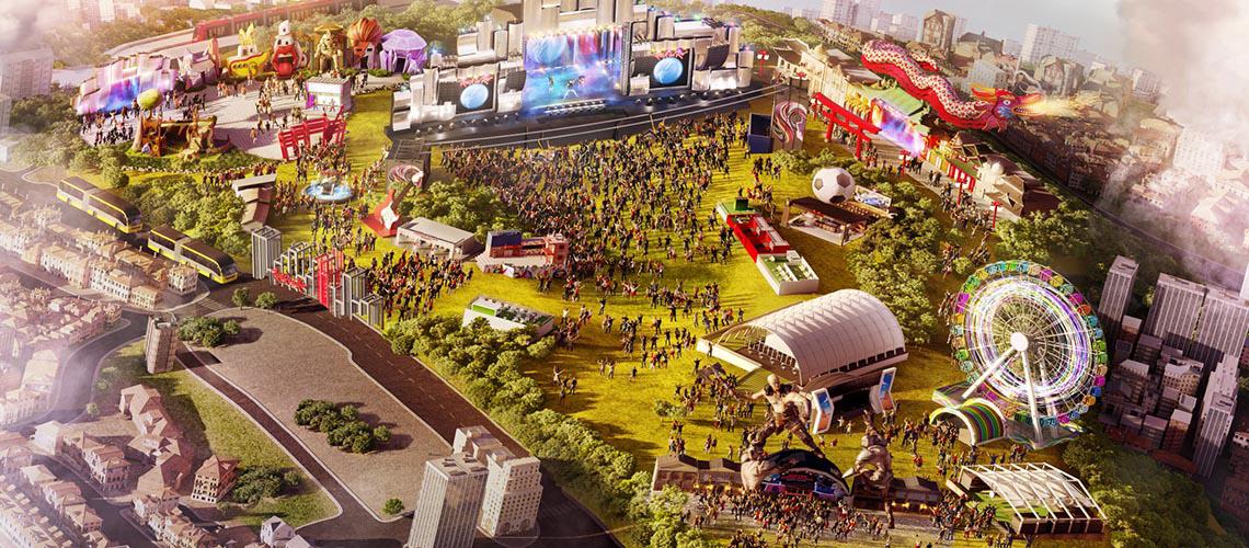 Cidade do Rock volta a abrir portas em 2020 com mais atrações e novas experiências