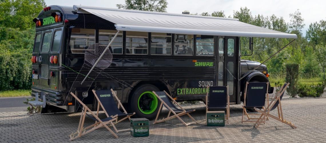 Shure Bus na BiMotorDJ