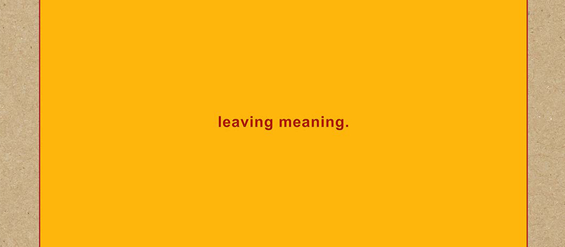 "Ouve ""leaving meaning."", o novo álbum dos Swans"