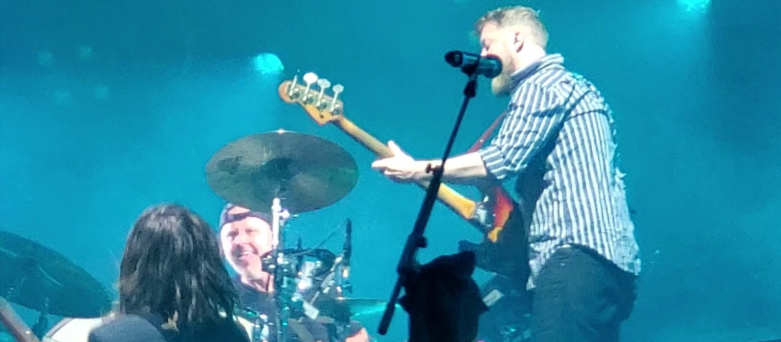Vídeo: Lars Ulrich junta-se a Mumford and Sons