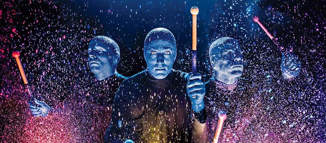 Blue Man Group ao vivo em Lisboa e no Porto
