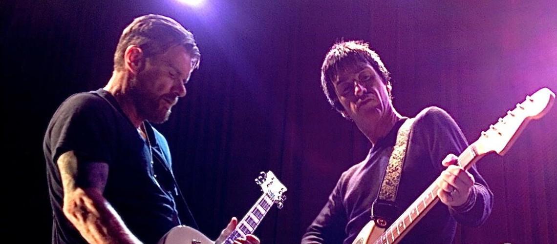 Johnny Marr & The Cult Juntos em Palco