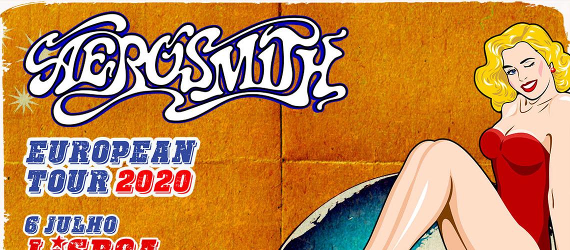 Aerosmith em Lisboa 2020: Os bilhetes