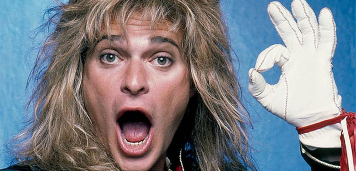 David Lee Roth na Digressão de Despedida dos KISS