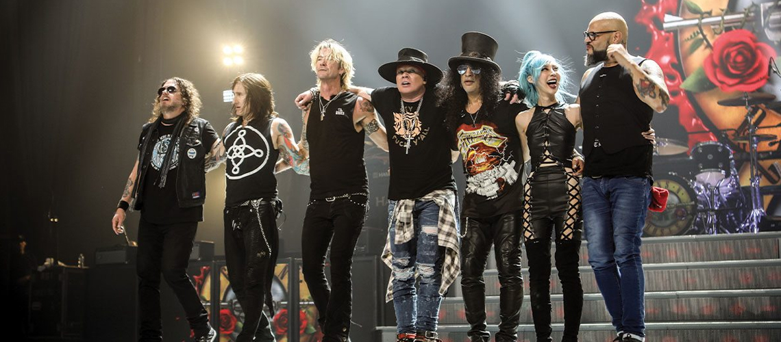 SiriusXM disponibilizou o concerto integral de Guns N' Roses no Apollo Theater em 2017