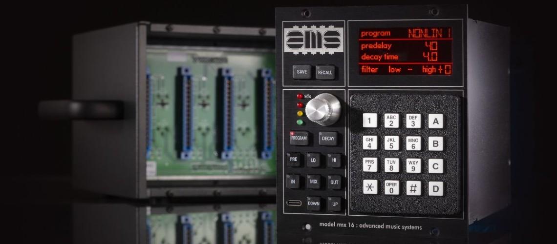 NAMM 2020: AMS Neve Ressuscita o RMX16