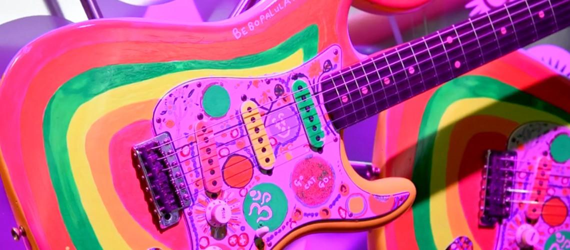 NAMM 2020: Fender Rocky Strat de George Harrison